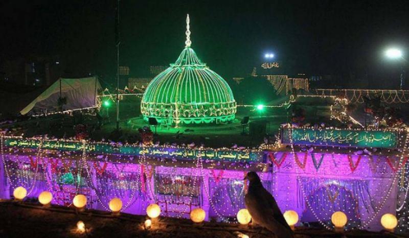لاہور میں حضرت علی ہجویری  المعروف داتا گنج بخش کے نوسوچوہتر ویں سالانہ عرس کی تین روزہ  تقریبات کا آغاز ہوگیا