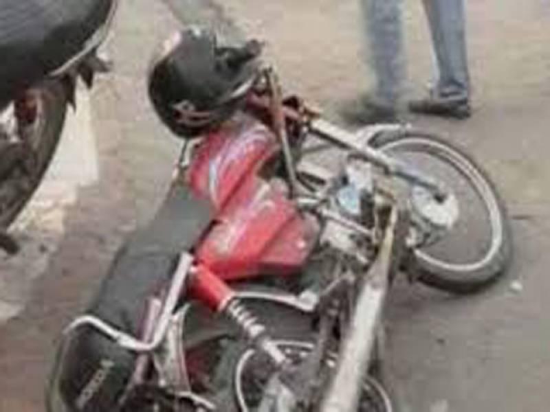 قصور،دھندکے باعث ٹریفک حادثے میں موٹرسائیکل سوارجاں بحق