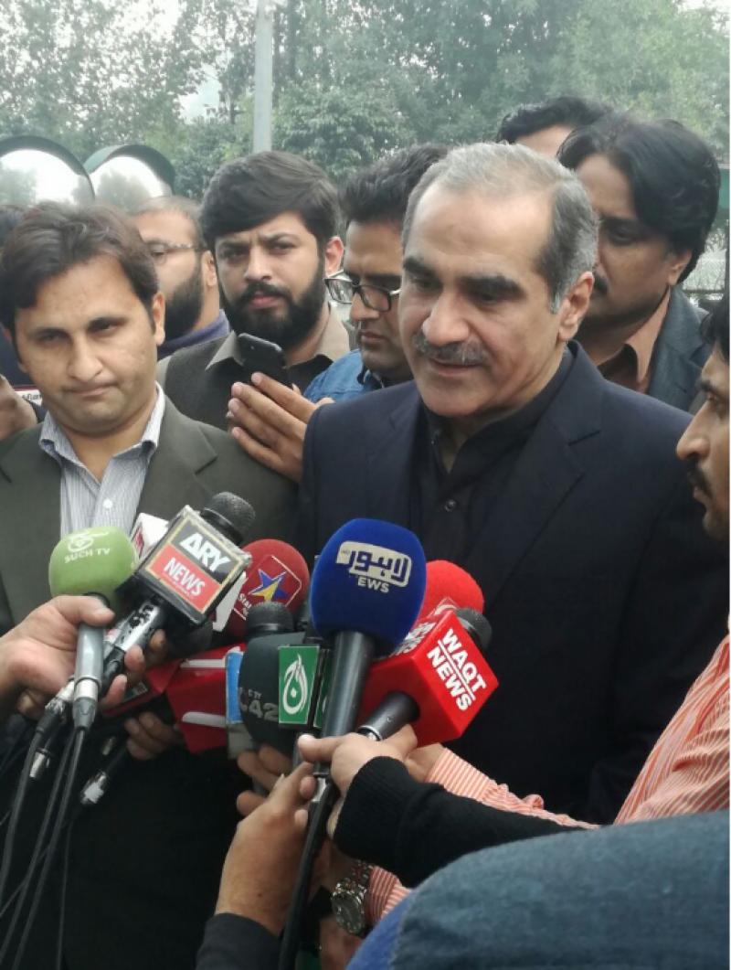 وقت سے پہلے الیکشن کی بات کرنے والے احمقوں کی جنت میں رہتے ہیں:سعد رفیق
