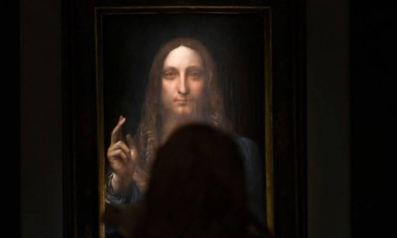 مونا لیزا کے خالق لیونارڈو کی 500سو سال پرانی پینٹنگ 45 ارب روپے میں فروخت