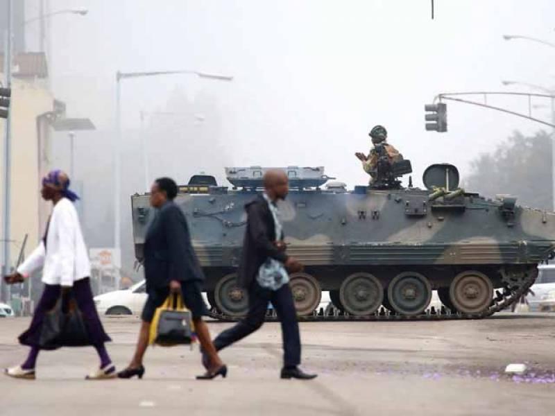 زمبابوے کے دارالحکومت کے ہوائی اڈوں پر غیر ملکی صحافیوں کا داخلہ بند