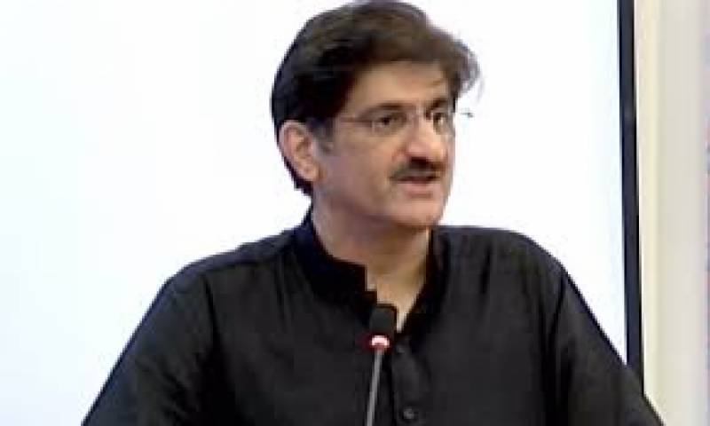 مصطفی کمال اور فاروق ستار کے ایک دوسرے پر الزمات سے افسوس ہوا:  مراد علی شاہ