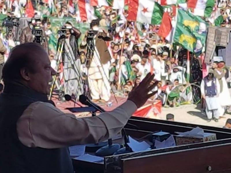 بلوچستان کے عوام نے بھی فیصلہ سنادیا کہ نوازشریف کی بیدخلی نامنظور ہے۔ نوازشریف