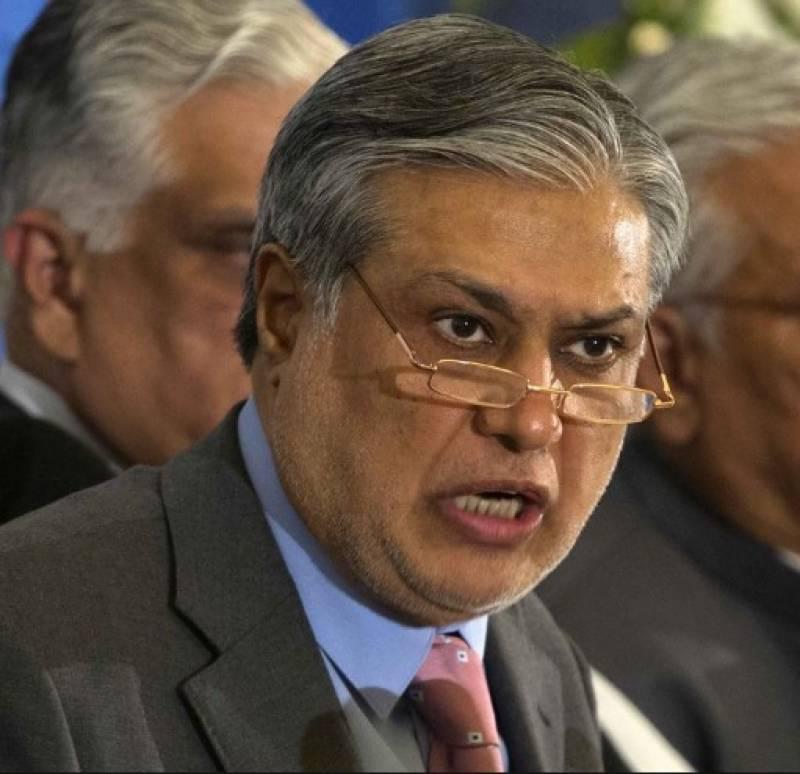 اسحاق ڈارنے ناقابل ضمانت وارنٹ گرفتاری اورمفرور قرار دیئے جانے کے خلاف اسلام آباد ہائیکورٹ میں درخواست دائرکردی