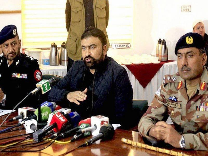 ڈی پی او قلعہ عبداللہ کی شہادت میں ملوث دو ملزمان گرفتار کر لیے گئے۔ میرسرفرازبگٹی