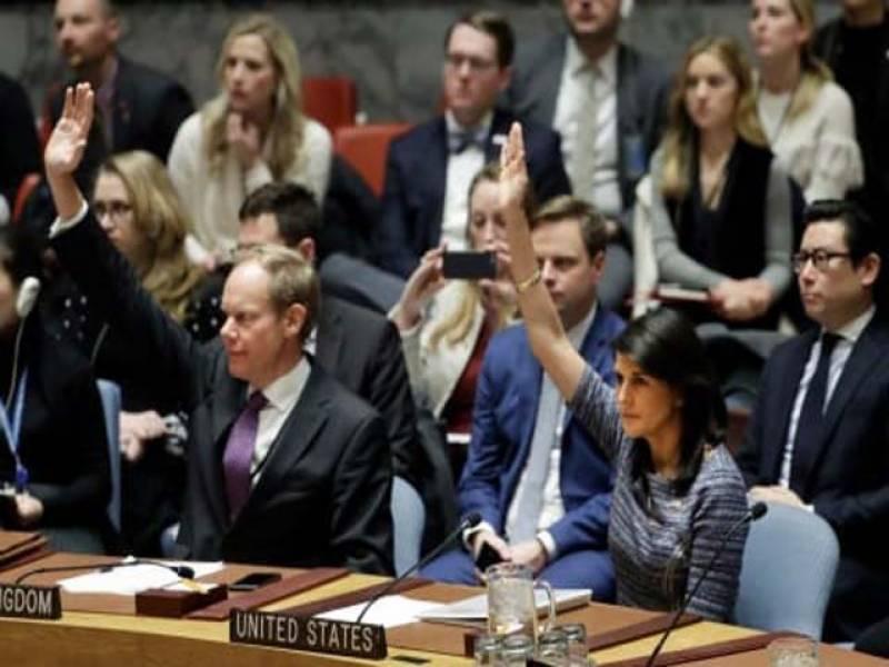 اقوام متحدہ کی سلامتی کونسل نے شمالی کوریا پر نئی پابندیاں عائد کردیں