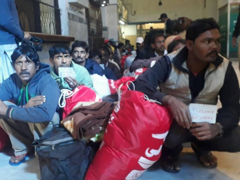 بھارتی ماہیگیروں  میں سے 145  کو جذبہ خیر سگالی کے تحت پاکستان کی جانب سے رہا کردیا گیا ہے