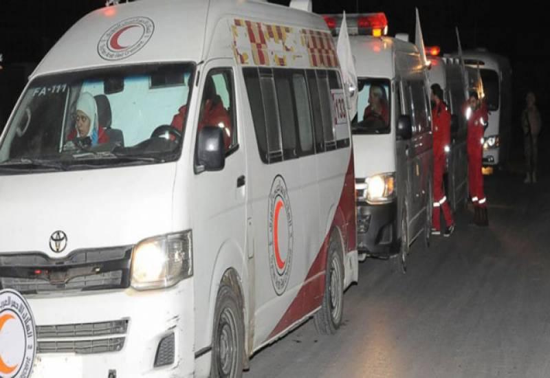 ریڈکراس شام کے علاقے غوطہ سے مریضوں کے انخلا کے لیے پرامید
