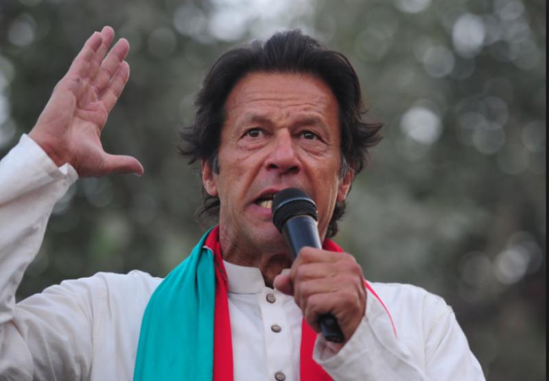 نوازشریف کے نظریئے کا نام کرپشن ہے:عمران خان