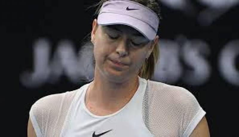 روسی ٹینس سٹارماریہ شرا پووا قطر ٹینس ٹورنامنٹ کے پہلے ہی راؤنڈ سے باہر ہو گئی ہیں