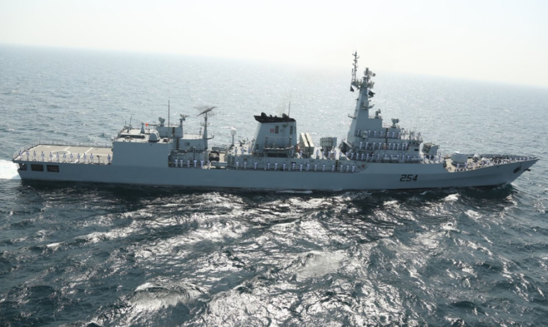 پاک بحریہ کی کامیاب امن مشق 2019 کا اختتام
