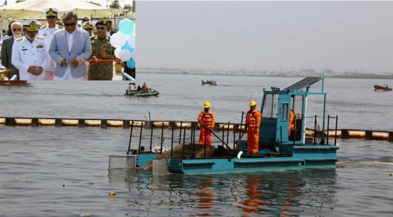 سمندری آلودگی کی روک تھام کے لئے پاک بحریہ کی ڈیبرس کلیکشن بارج کی تعمیر اور بحری بیڑے میں شمولیت قابل ستائش ہے۔ سید علی حیدر زیدی