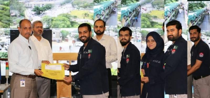 پنجاب سیف سٹیز اتھارٹی میں تقریب تقسیم انعامات، ختلف شعبوں کے 87نمایاں کارکردگی کے حامل افسران میں اسناد،کیش انعامات تقسیم