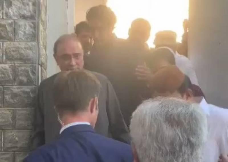 جعلی اکاؤنٹس کیس ، نیب نے سابق صدر آصف زرداری کو گرفتار کرلیا