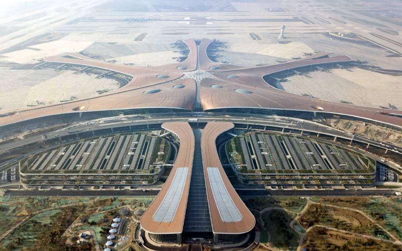 چین کے دارلحکومت بیجنگ کے نئے ہوائی اڈے کی تعمیر و آرائش کا کام مکمل