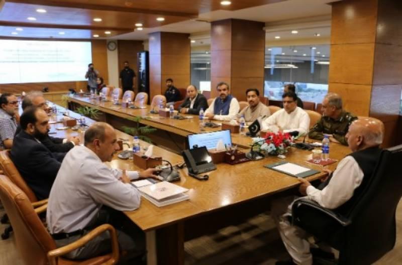 گورنر پنجاب چوہدری محمد سرور کی پنجاب سیف سٹیز ہیڈکوارٹرز آمد, پولیس دستے نے گورنر پنجاب کو گارڈ آف آنر،افسران نے بریفنگ دی