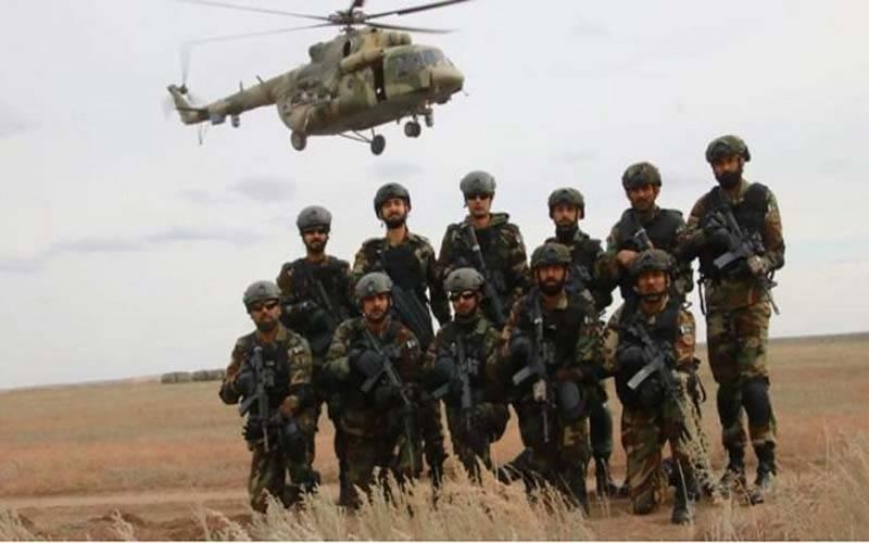 روس میں کثیرالملکی فوجی مشقوں کا آغاز، پاکستانی دستہ بھی شریک