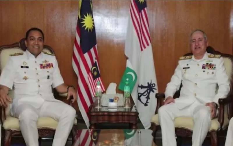 پاک بحریہ کے سربراہ ایڈمرل ظفر محمود عباسی کا ملائیشیا کا دورہ