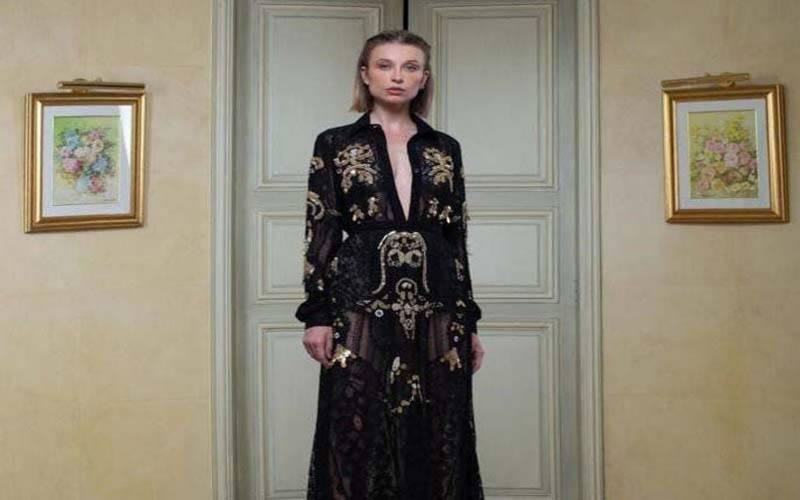 سعودی فیشن ڈیزائنر کے ملبوسات کی پیرس نمائش میں دھوم