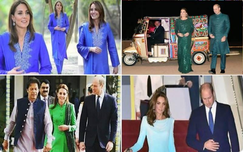 برطانوی شہزادے اور شہزادی نے پاکستانیوں کے دل جیت لئے