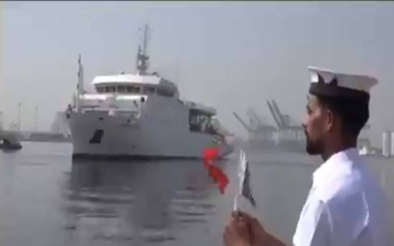 پاک بحریہ کا سمندری تحقیق کی طرف ایک اہم قدم,جدید ترین سروے جہاز کی ملکی بحری بیڑے میں شامل
