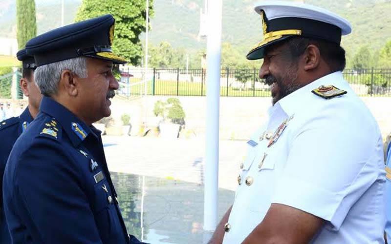 سری لنکن چیف آف ڈیفنس اسٹاف کی پاک فضائیہ کے سربراہ سے ملاقات