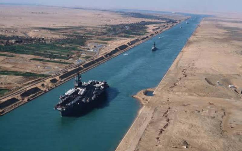 قاہرہ میں نہر سویز کی 150 ویں سالگرہ پر خصوصی نمائش