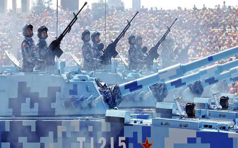 چین دنیا بھر میں اسلحہ تیار کرنے والا دوسرا بڑا ملک بن گیا۔