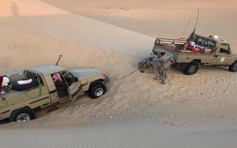 سعودی عرب کے سب س بڑے صحرا میں لاپتا 2 شہری مل گئے۔