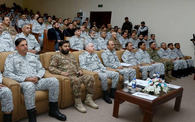 پاکستان بحریہ کی میری ٹائم مشق سی سپارک 2020 کا کراچی میں آغاز