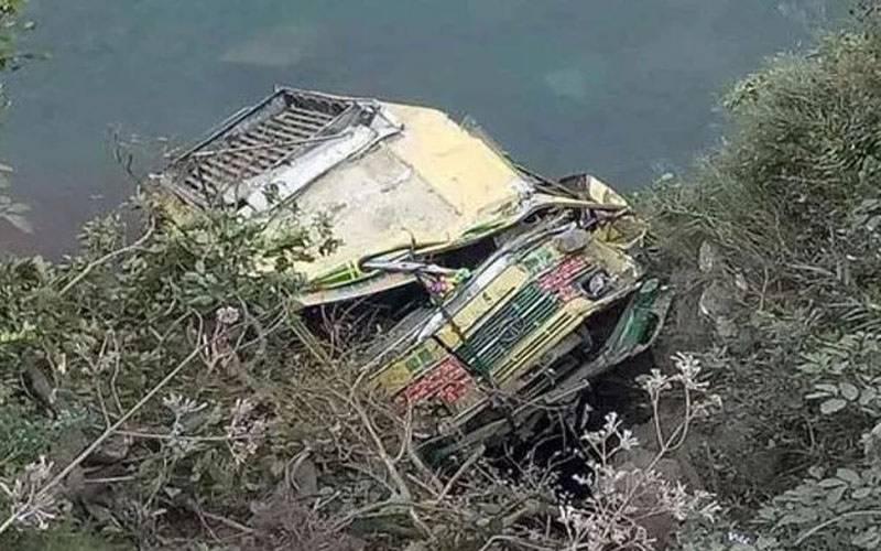 گلگت بلتستان:مسافر کوسٹر کھائی میں جاگری، 20 افراد جاں بحق،5 شدید زخمی