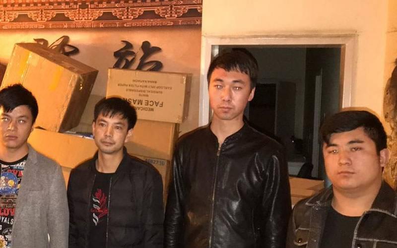 چینی باشندوں سے 2 کروڑ مالیت کے ماسک برآمد
