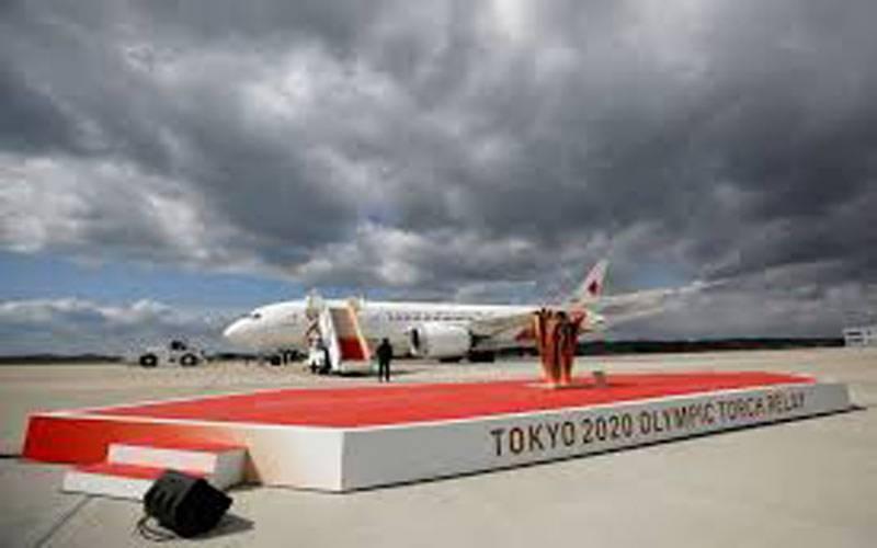 کرونا وائرس کے خوف کے دوران اولمپکس کی مشعل جاپان پہنچ گئی