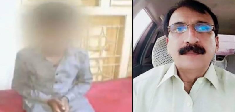 خیرپور : بچوں کی غیراخلاقی ویڈیو بنانے والا استاد گرفتار