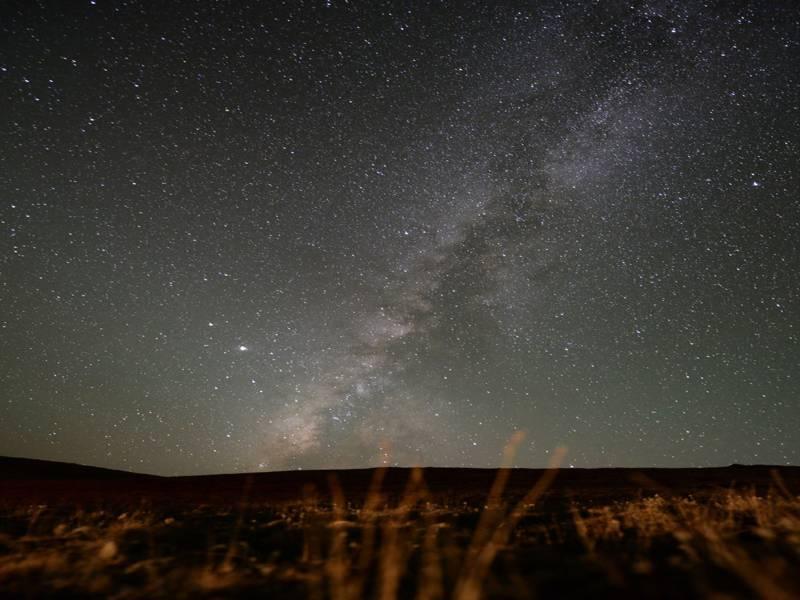 ستاروں بھری رات،پاکستان کے دیوسائی قومی پارک سے کہکشاں کا منظر