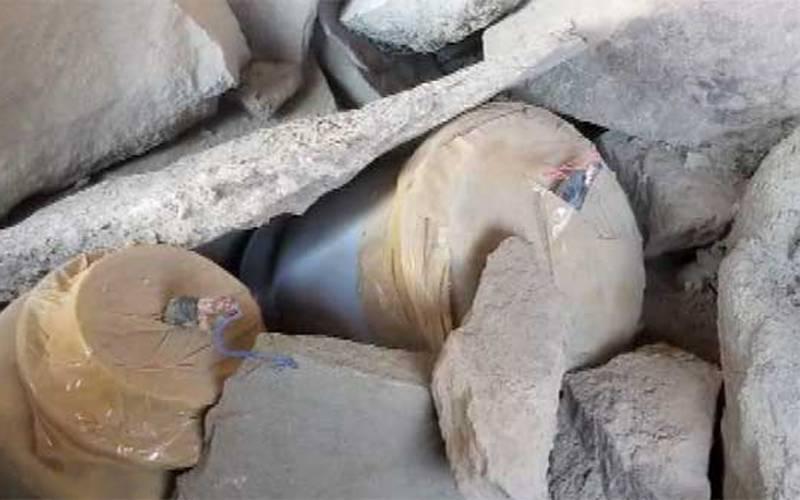 بلوچستان میں دہشتگردی کی بڑی کوشش ناکام، دھماکا خیز مواد برآمد