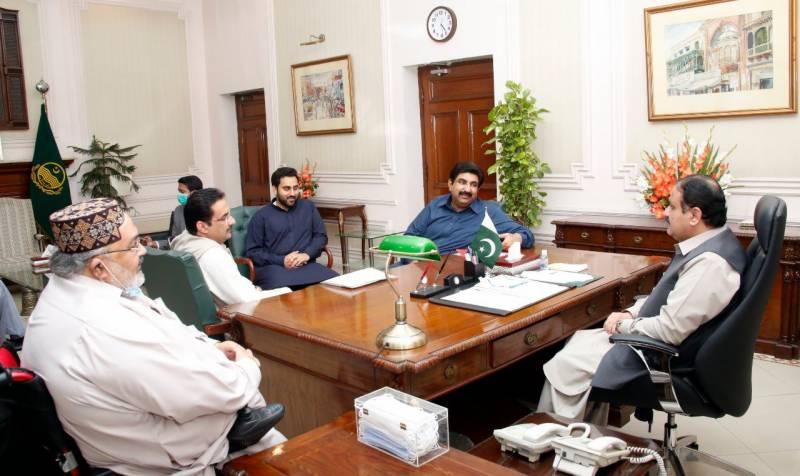 اراکین قومی اور پنجاب اسمبلی کی وزیراعلیٰ پنجاب سے ملاقات
