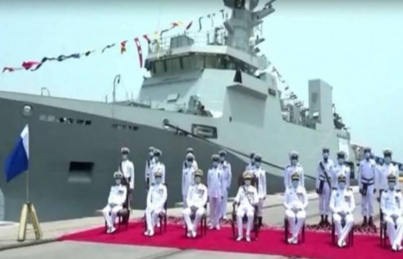 پاک بحریہ کیلئے ملجم کلاس کارویٹ جہاز کی تعمیر کا آغاز کر دیا گیا