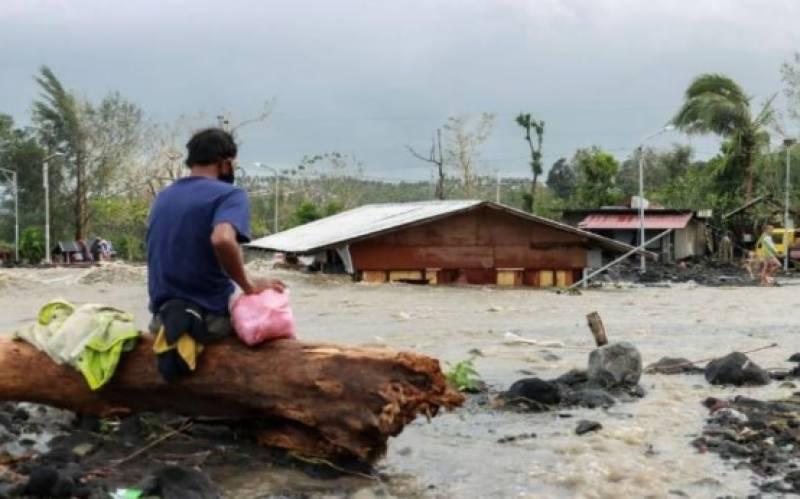 فلپائن میں سمندری طوفان سے ہلاکتوں کی تعداد 16ہوگئی