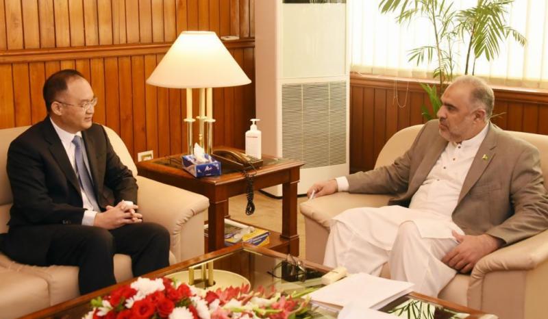 چین کے سفیر Mr. Nong Rong کی سپیکر قومی اسمبلی اسد قیصر سے ملاقات