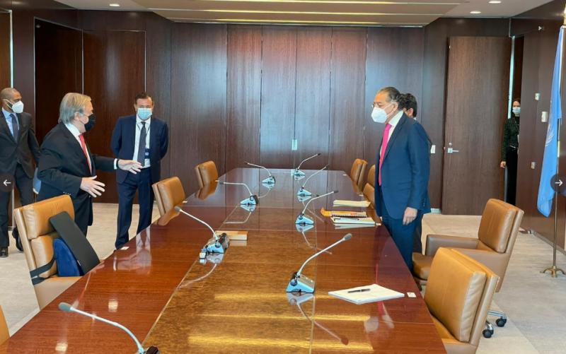 منیر اکرم کا یو این سیکریٹری جنرل کو پاکستان میں بھارتی دہشتگردی سے متعلق ڈوزئیر پیش