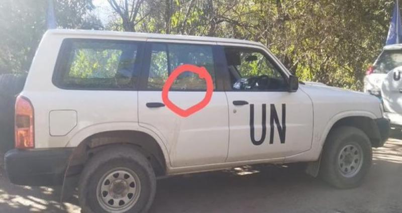بھارتی فوج نے چری کوٹ سیکٹر میں اقوام متحدہ کی گاڑی کو نشانہ بنا ڈالا