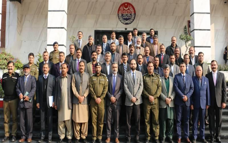 پروموشن کورس کے ڈی ایس پیزکے وفد کا پنجاب سیف سٹیز اتھارٹی کا دورہ وفد
