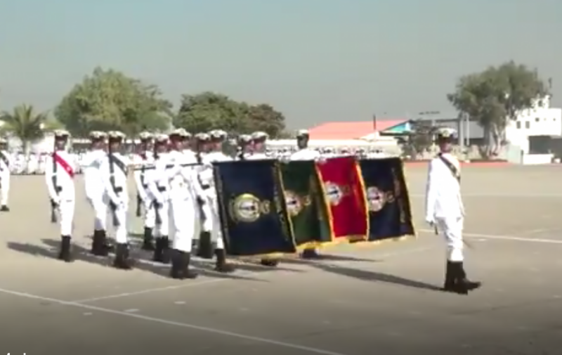 پاکستان نیول اکیڈمی میں 114 ویں مڈشپ مین پاسنگ آؤٹ پریڈ کا انعقاد