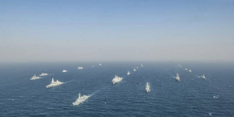 پاک بحریہ کی کثیر الملکی بحری امن مشقیں