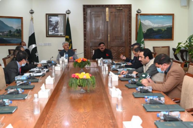 وزیر اعلی خیبر پختونخوا کی زیر صدارت امن و امان سے متعلق اجلاس