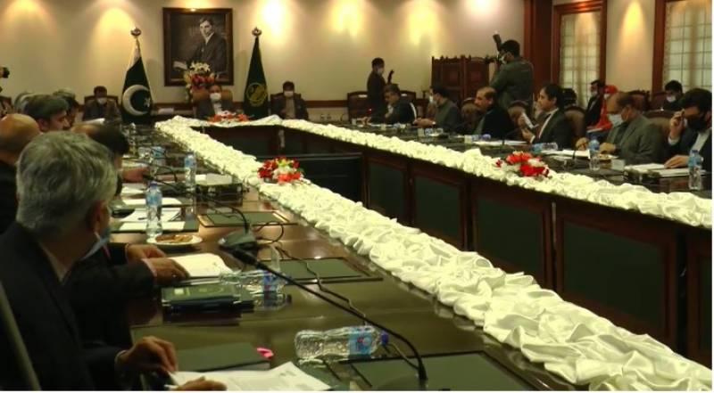 وزیراعلیٰ پنجاب سردار عثمان بزدار کی زیرصدارت پبلک پرائیویٹ پارٹنرشپ پالیسی اینڈ مانیٹرنگ بورڈ کا 6واں اجلاس