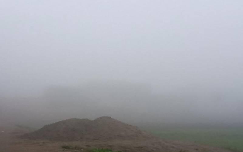 سیالکوٹ شہراور گردونواح میں شدید دھند کا راج