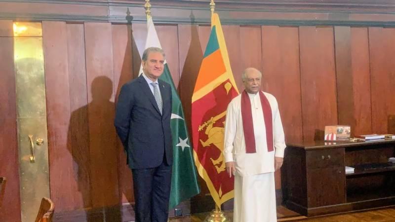 ہم سری لنکا کے ساتھ معاشی بنیاد کو وسعت دیں۔ وزیرخارجہ