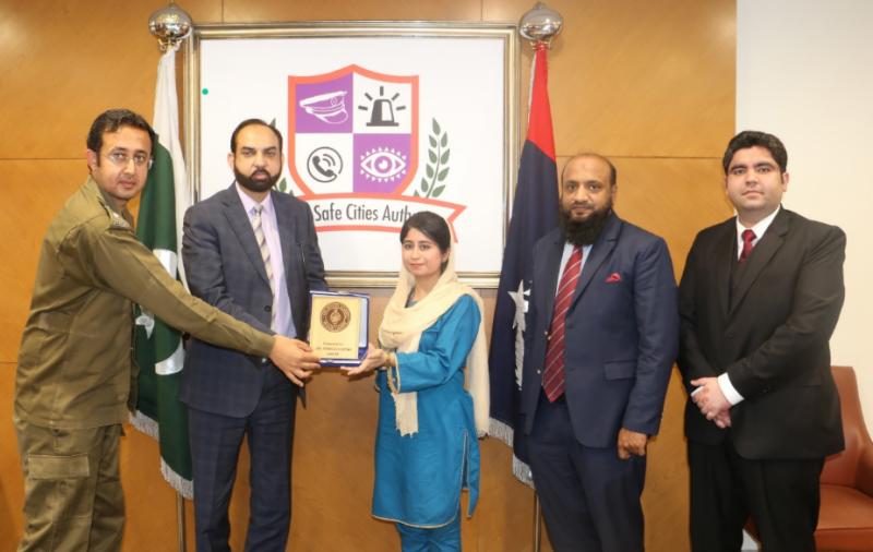 سول سروسز اکیڈمی میں زیرتربیت افسران کا پنجاب سیف سٹیز اتھارٹی کا دورہ
